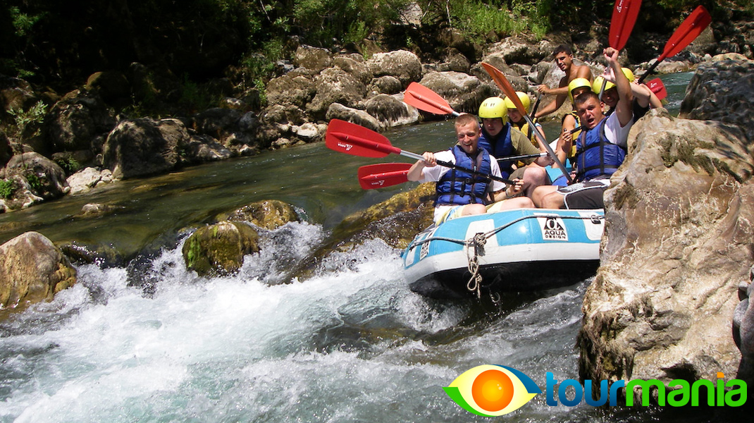 White Water Rafting Adventure from Fethiye