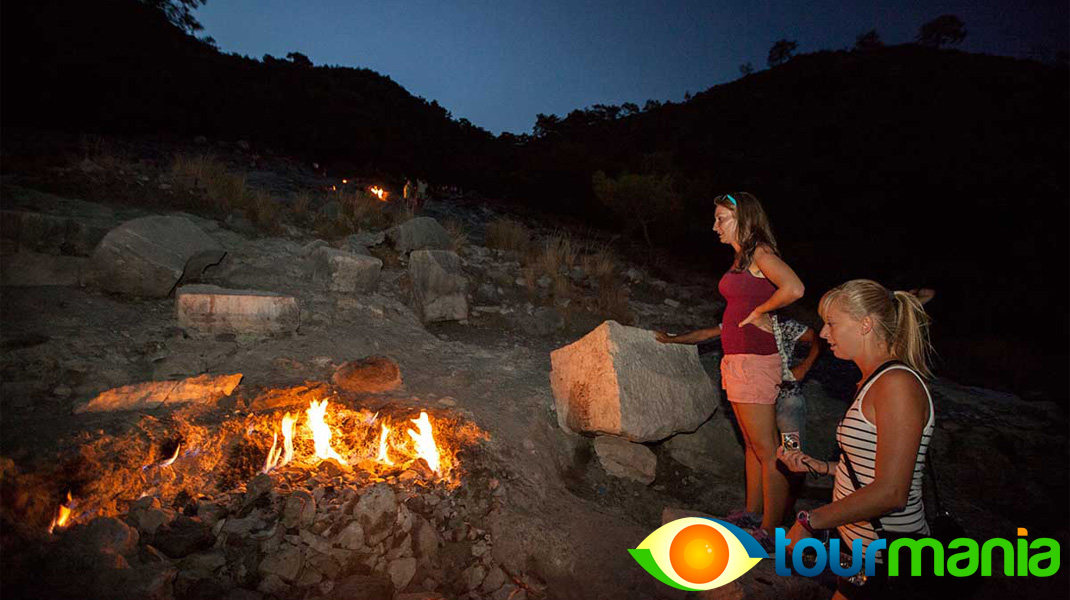 Olympos Cirali and Chimera Yanartas Jeep Safari tour