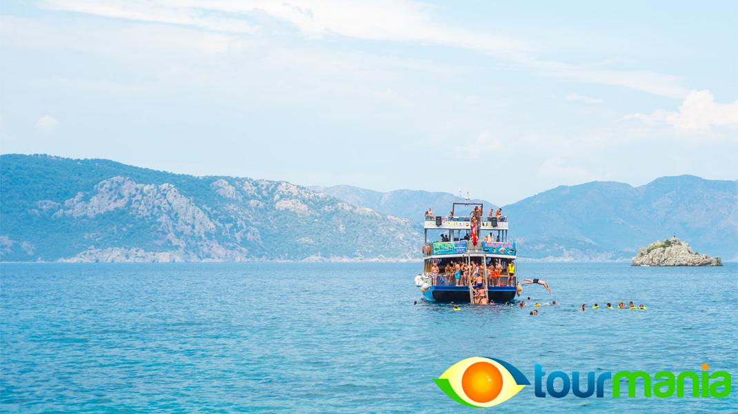 Cleopatra's Island boat Trip from Marmaris