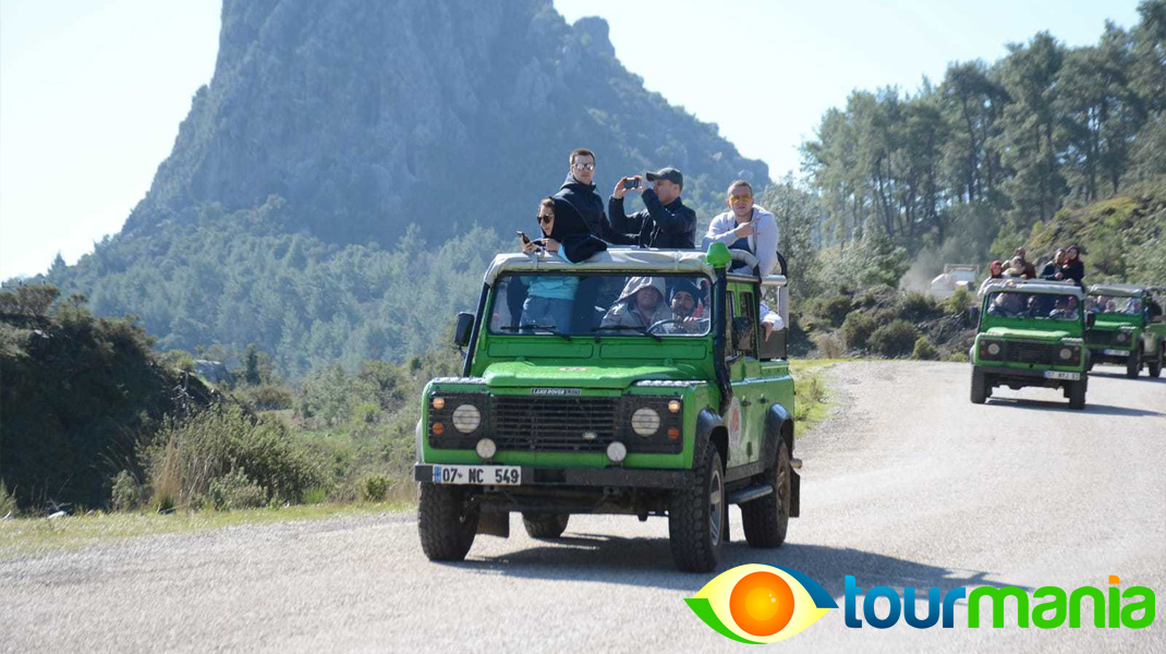 Green Lake Jeep Safari and Boat Tour