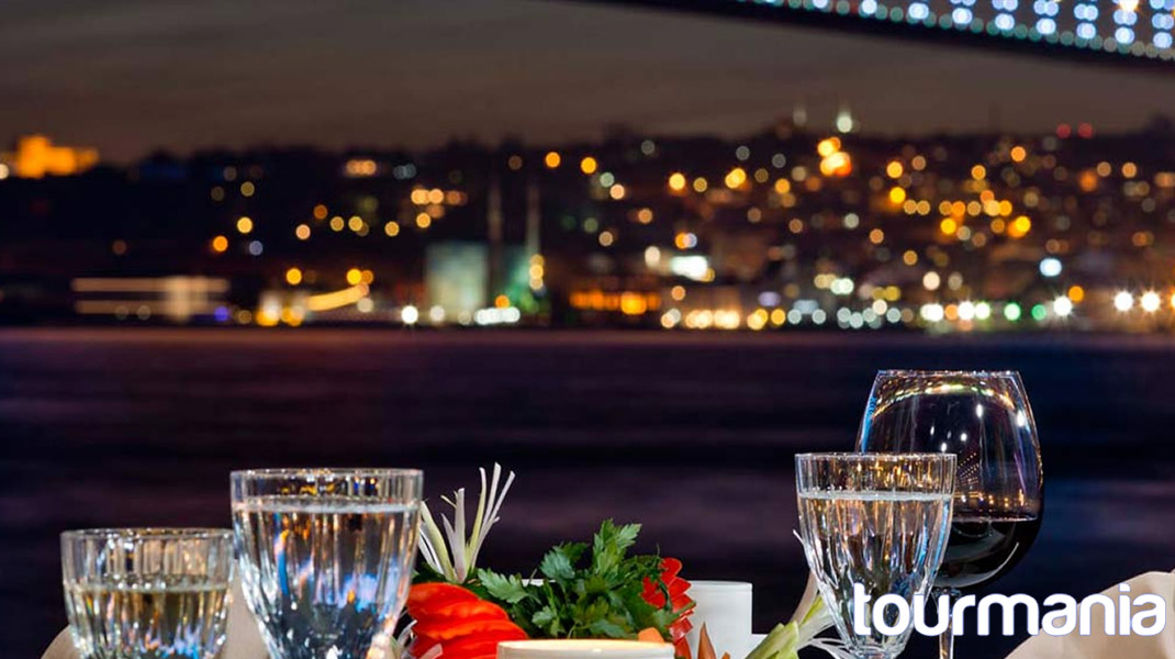 Bosphorus Dinner Cruise with Turkish Night Show (Alcoholic Drinks)