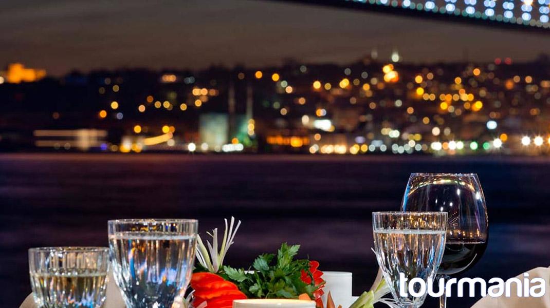 Bosphorus Dinner Cruise with Turkish Night Show (Alcoholic Drinks)