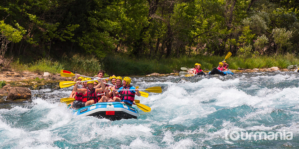 White Water Rafting at Köprülü Canyon from Alanya