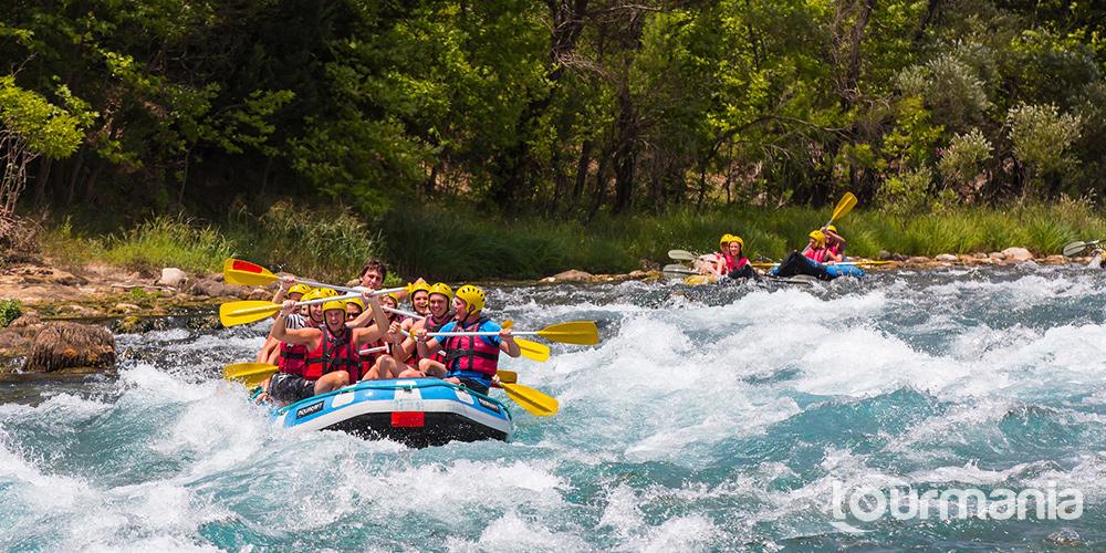 Rafting at Koprulu Canyon from Antalya