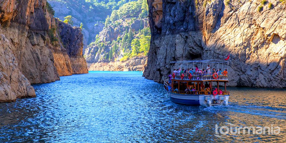 Green Canyon Boat Trip from Alanya