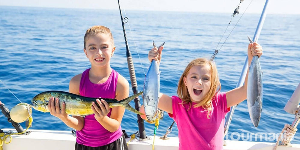 Fishing and Snorkeling Tour in Alanya