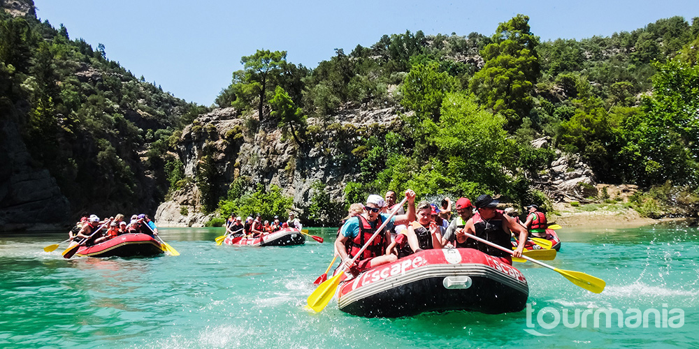 Canyoning and Rafting Tour from Antalya