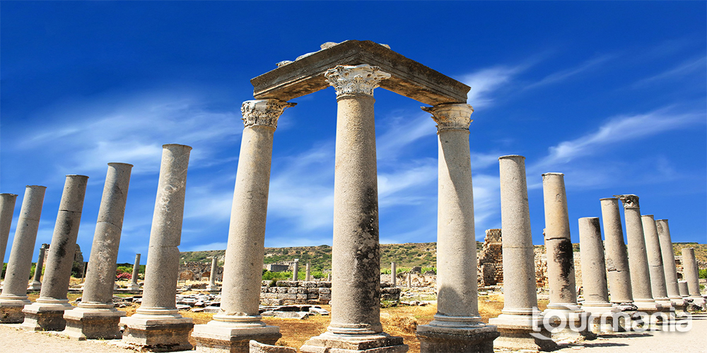 Perge Aspendos Side and Kursunlu Waterfalls Guided Tour from Antalya