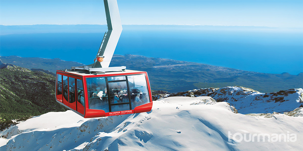 Olympos Cable Car Ride to Tahtali Mountain from Kemer