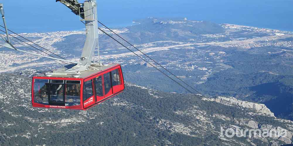 Olympos Cable Car Ride to Tahtali Mountain from Antalya