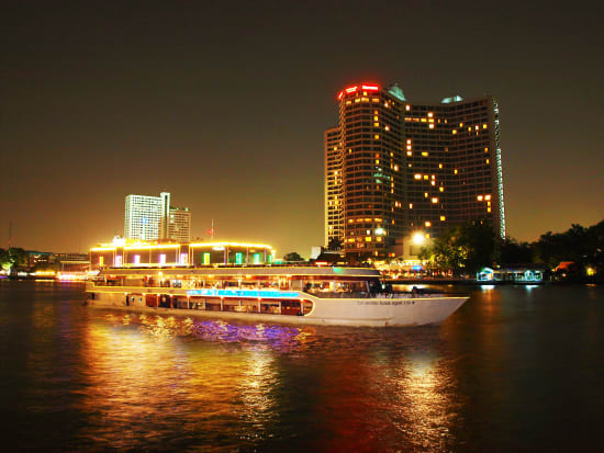 Bangkok Private White Orchid River Cruise With Buffet Dinner