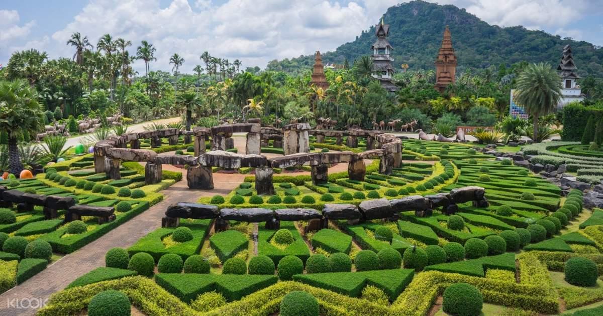 Pattaya Nong Nooch Tropical Garden (show+lunch Intl Buffet+transfer)