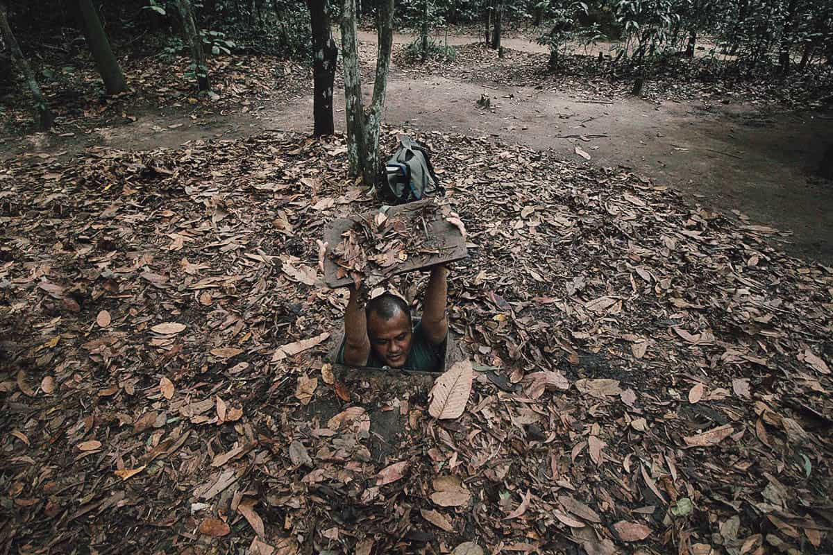 Ho Chi Minh City Half-day Tour to Cu Chi Tunnels