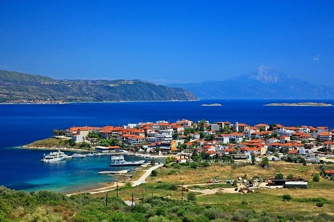Halkidiki Blue Lagoon Cruise from Thessaloniki with Lunch