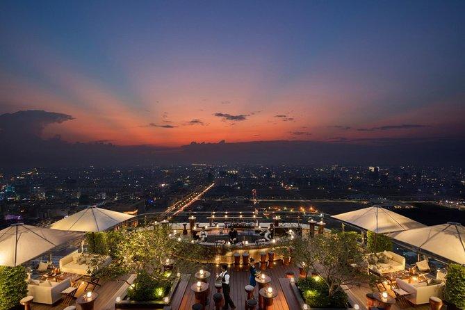 Phnom Penh Sora Skybar Sunset Experience