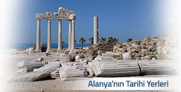 Alanya'da Görülmesi Gereken Tarihi Yerler