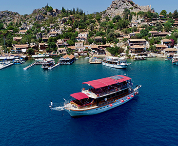 Kekova Batıkşehir Tekne Turu