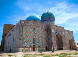 Kazakistan Turu | Türkistan, Ahmet Yesevi Kabri (Yesi), Çimkent, Taşkent