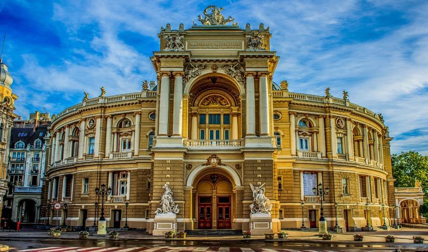Odessa Turu 3 Gece 4 Gün Skyup Havayolları ile