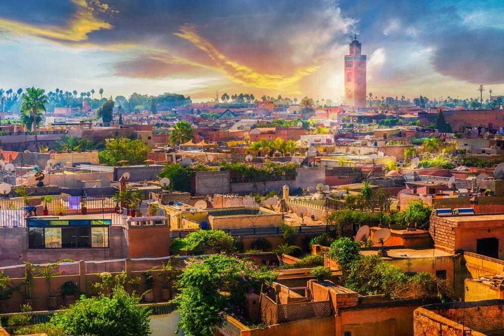 Kızıl Şehir Marrakech Türk Havayolları ile 3 Gece (RAK-RAK)